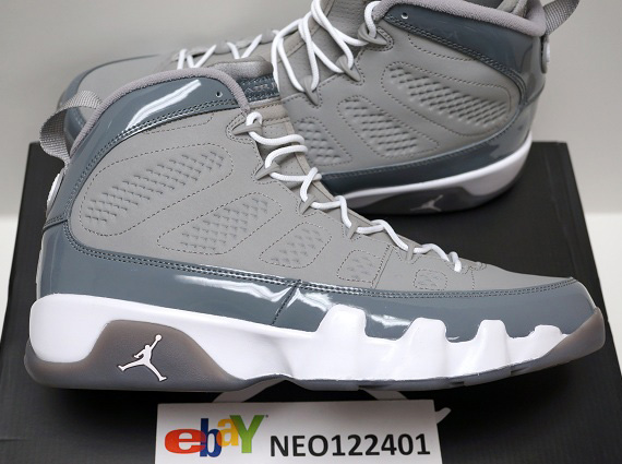 647f513c76e663 ... feet czech jordan 9 ix cool grey 2012 youtube classic sneaker 10fc9  e38ad shop this article 6902e ...