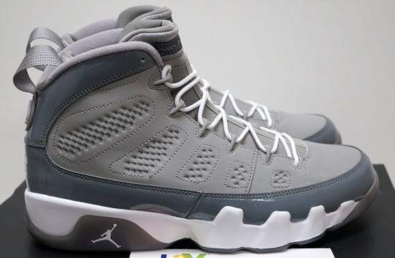 jordan ix cool grey