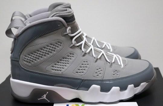 """Air Jordan IX """"Cool Grey"""" – Release Reminder"""