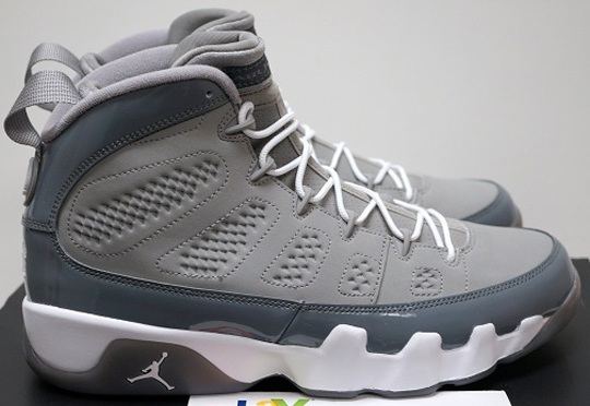 "Air Jordan IX ""Cool Grey"" – Release Reminder"