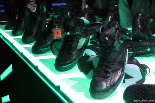"Air Jordan ""Black"" Collection"