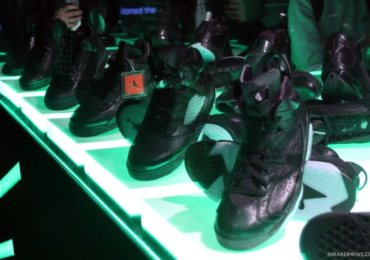 "Air Jordan ""Black"" Collection"