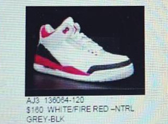 """Air Jordan III """"Fire Red"""" – Returning Fall 2013"""