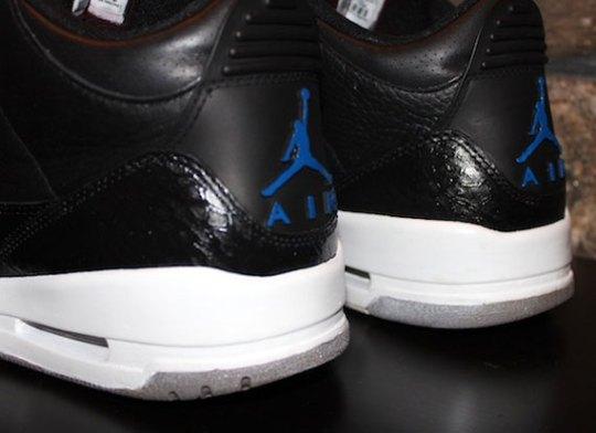 """Air Jordan III """"Space Jam"""" Customs by EBreez3"""