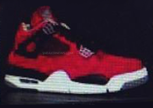 "Air Jordan IV ""Fire Red Suede"" – Fall 2013"