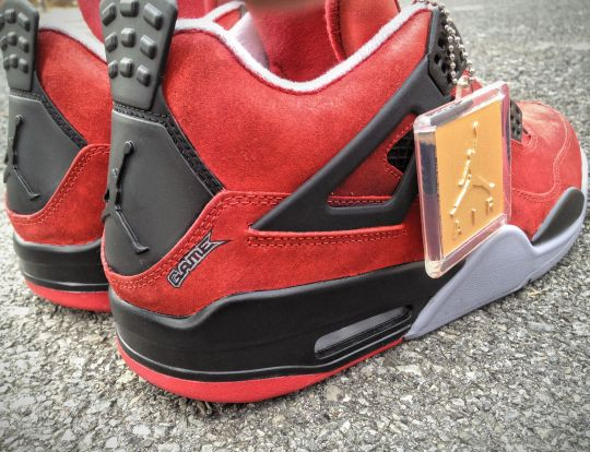 Air Jordan IV 'Jesus Piece' Customs by Mache for Game