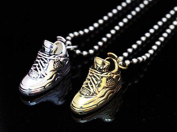 Air Jordan IV Pendants by Victim of Vanity - SneakerNews.com