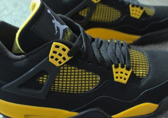 """Air Jordan IV """"Thunder"""" – Arriving at Retailers"""