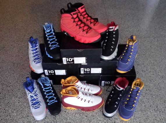 549b0bd15896 Air Jordan IX - Full Kilroy Set on eBay - SneakerNews.com