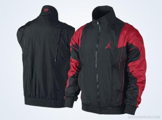 Air Jordan V Archive Jacket – Black – Red