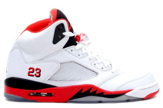 "Air Jordan V ""Fire Red"" - Returning Fall 2013 ..."