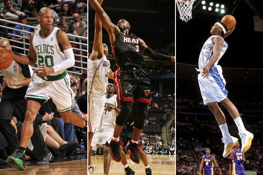 Air Jordan XII  NBA Photo Retrospective - SneakerNews.com 835e06f50