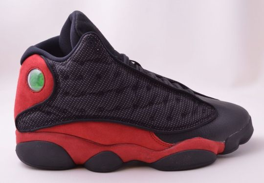 "Air Jordan XIII ""Bred"" – Detailed Images"