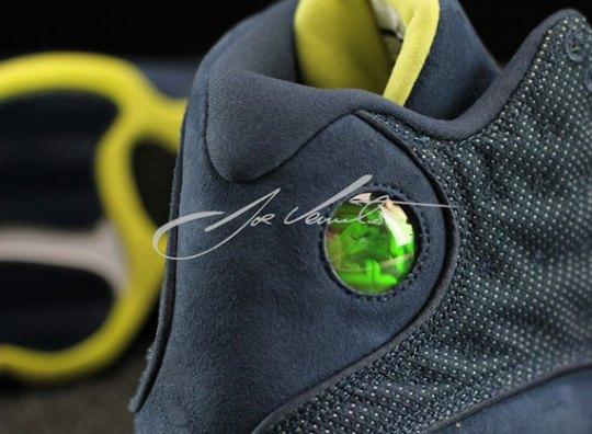 "Air Jordan XIII ""Squadron Blue"" – Detailed Images"