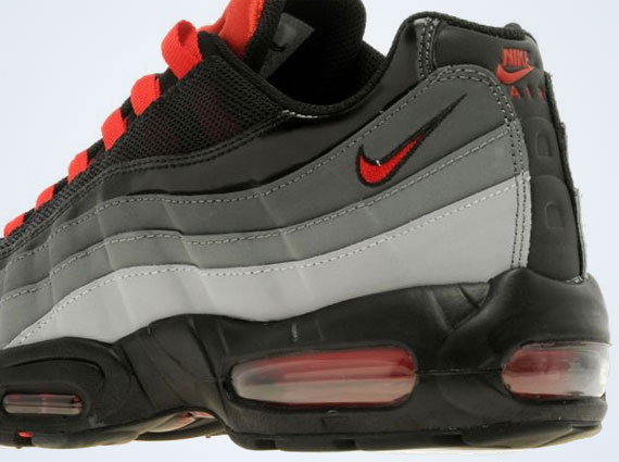 e1cccb1cb7ab31 chic Nike Air Max 95 Wolf Grey University Red - cculb.coop