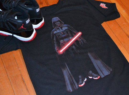 """""""Bred XI Vader"""" T-Shirts by Vandal-A"""