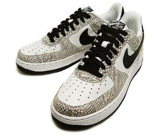 Nike Air Force 1 Low Premium Slangeskinn Kakao Utgave uQUE8d