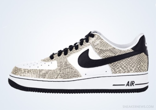 "Classics Revisited: Nike Air Force 1 Low ""Cocoa Snake"" (2001)"