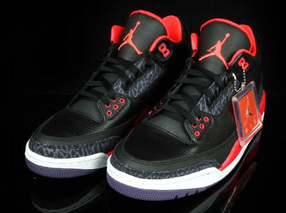 lowest price ca4ad 4a743 ... new arrivals air jordan 3 retro bright crimson sneakernews afda7 615f3