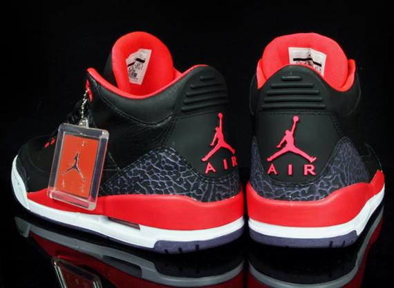 "Air Jordan 3 Retro ""Bright Crimson"" - SneakerNews.com"