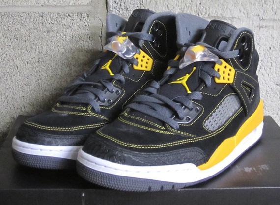 Air Jordan Spizike Noir Et Jaune