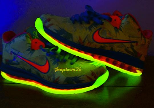 "Nike LeBron 9 Low ""LeBronold Palmer"" – Glow in the Dark"