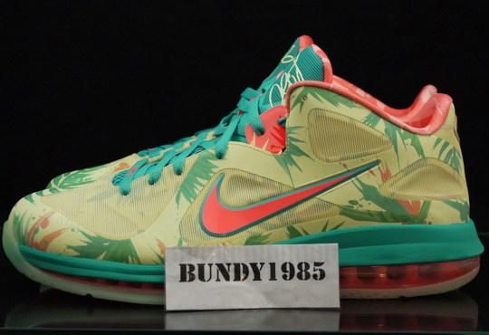 "Nike LeBron 9 Low ""LeBronold Palmer"" – Available on eBay"