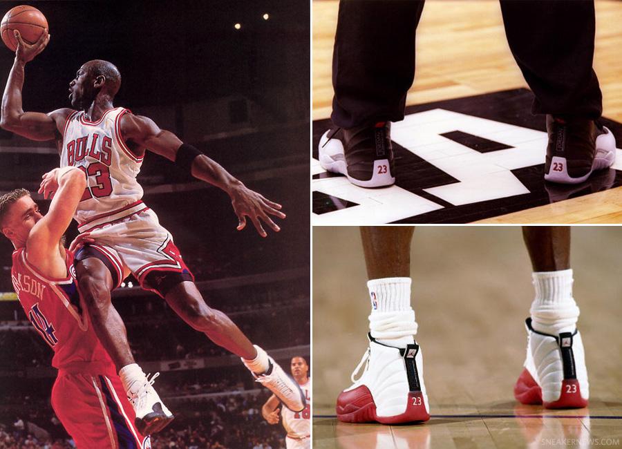 Air Jordan XII: NBA Photo Retrospective