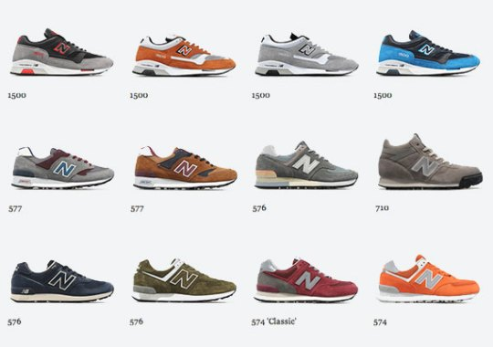 New Balance January 2013 Releases