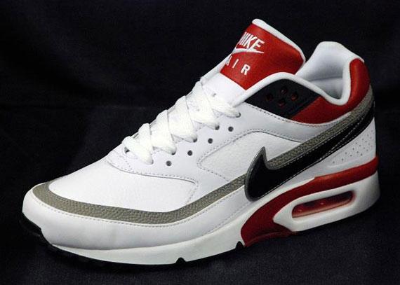 Nike Air Classic BW White Black Gym Red