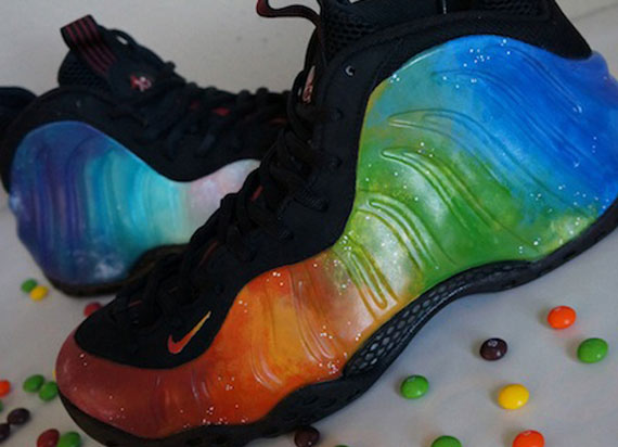 904fa66adb1 good Nike Air Foamposite One quotSkittles Galaxyquot Custom by Tragik Kicks