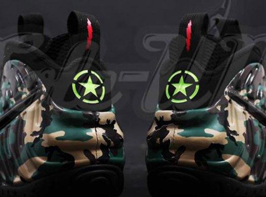 "Nike Air Foamposite Pro ""Army Camo"""