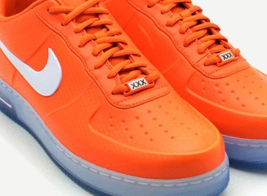 "Nike Air Force 1 Foamposite Low ""Safety Orange"""