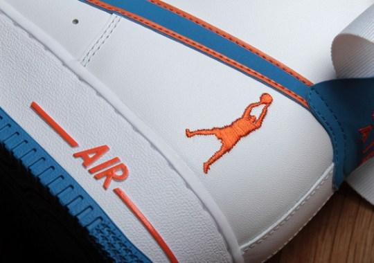 Nike Air Force 1 High – Rasheed Wallace Knicks Home PE