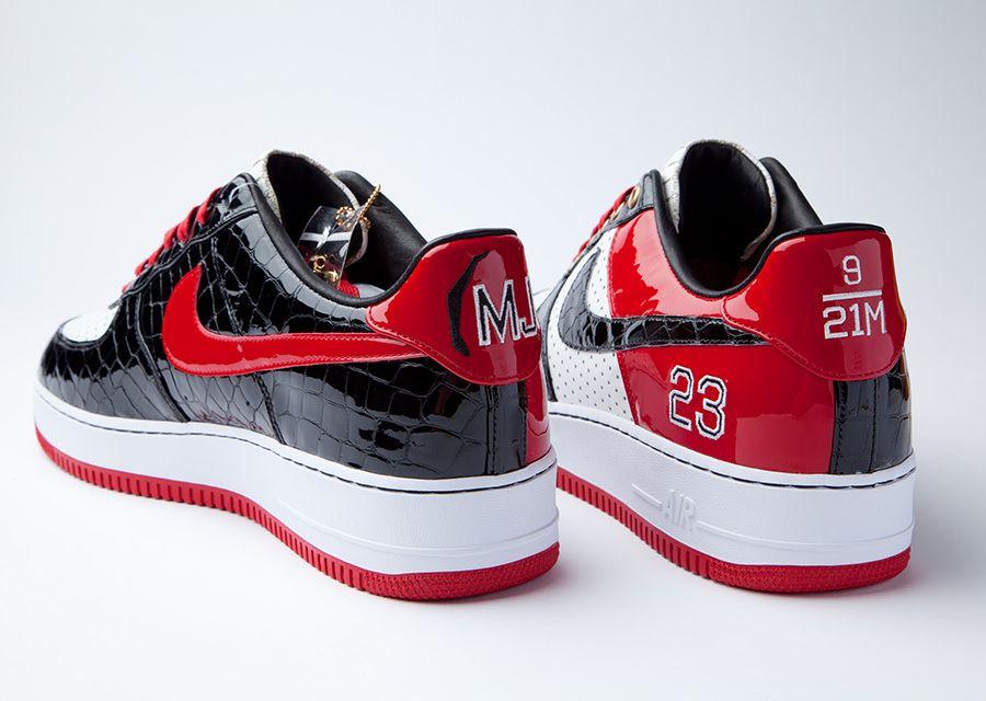 "4c47f294f0 Nike Air Force 1 Bespoke ""Michael Jordan"" by Layupshot - SneakerNews.com"