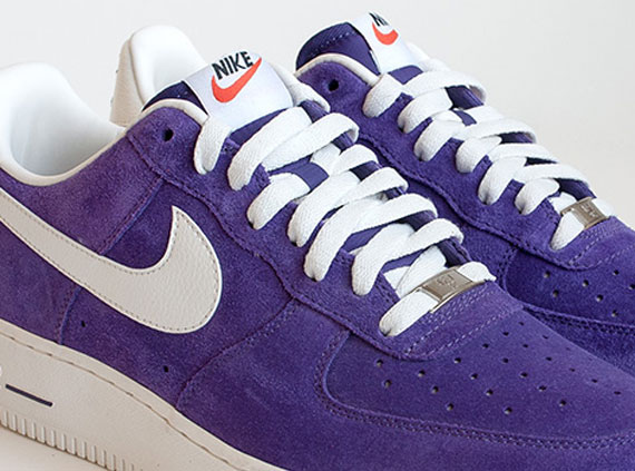 nike air force 1 low suede purple jordan