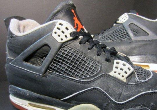 """Nike Air Jordan IV """"Bred"""" OG Pair on eBay"""