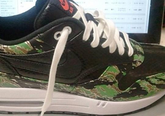 atmos x Nike Air Max 1 – Tiger Camo – Snakeskin