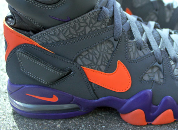 info for 9c77e 84bf9 Nike Air Max 2 Strong Dark Grey Electric Orange Court Purple low-cost
