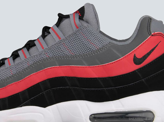air max 95 black red