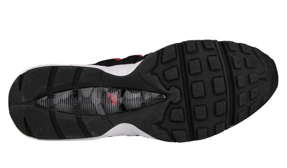 Nike Air Max 95 Fresco Gris / Negro / Rojo Universidad tK7NmX