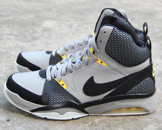 Nike Air Ultra Force 2013 Grey Black Yellow