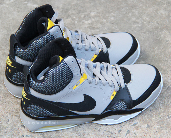 buy popular 57cb6 af04c Nike Air Ultra Force 2013 - Grey - Black - Yellow - SneakerNews.com
