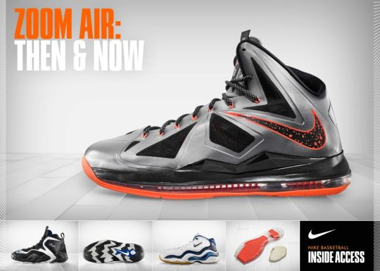 Nike Basketball Inside Access: Nike Zoom, Then and Now