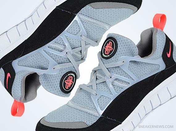 225172cc8c18e Nike Free Huarache Light - Wolf Grey - Infrared - SneakerNews.com
