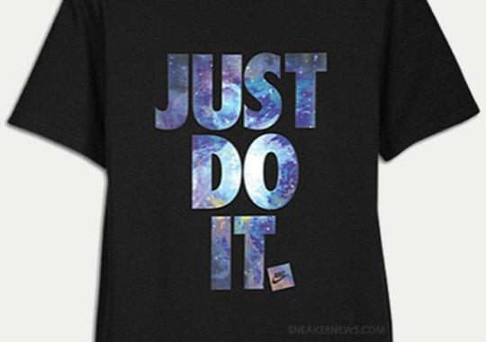 "Nike ""Just Do It"" Galaxy T-Shirt"