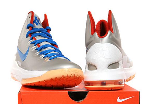a23fe34a696 Nike KD V - Birch - Photo Blue - Sail - Team Orange - SneakerNews.com