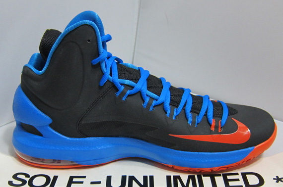 pretty nice 27206 a5c0d Nike KD V - Black - Photo Blue - Team Orange   Release Reminder ...
