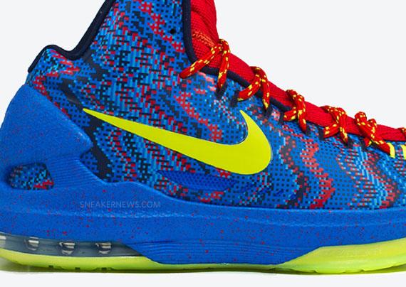 best service b03c5 da670 Nike KD V quotChristmasquot Release Date 50%OFF