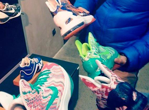 "check out 4d615 c0dc8 Nike KD V ""Christmas"" iD"